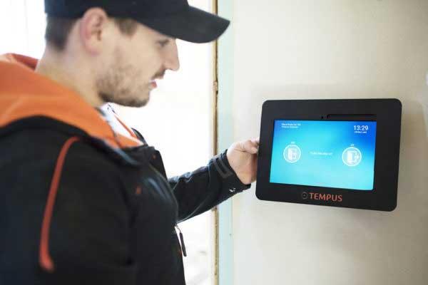 Visste du at du kan få automatisk INN/UT registrering på byggeplassen?