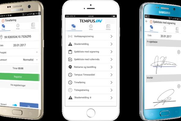 Tempus lanserer auto utfylling av Word rapporter!